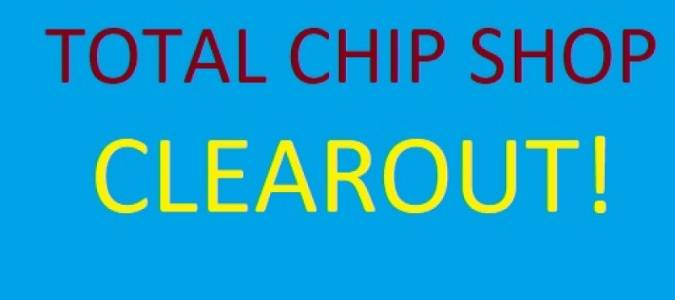 Total Clearout Of Fish And Chip Shop